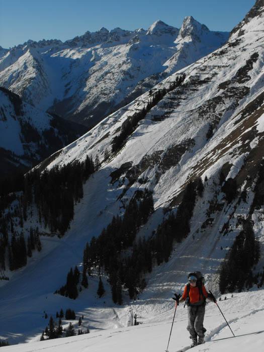 Blick zur Hornbachkette