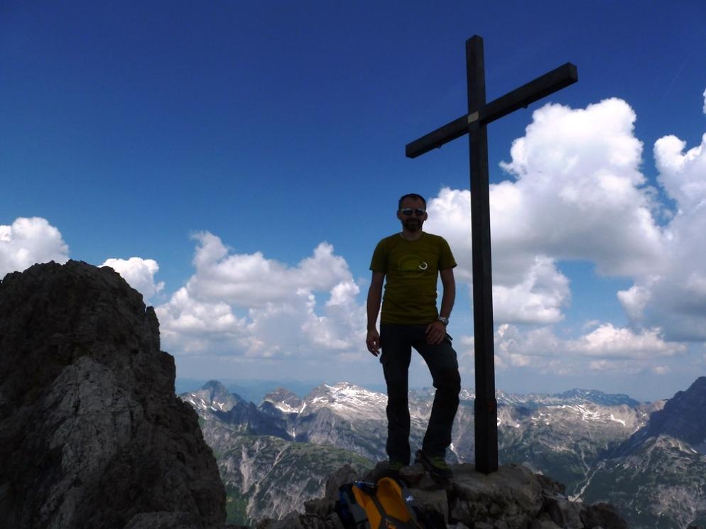 nach der Urbeleskarspitze sind wir noch auf die Gliegerkarspitze.