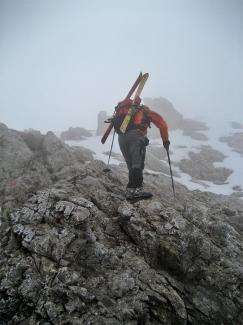 Geißhorn Nordgrat im Winter