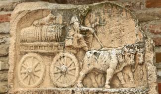 römische Grabstele