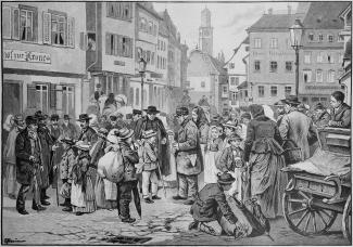 Tiroler Schwabenkinder in Ravensburg