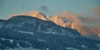Aggenstein von Südwesten