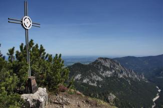 Ahornspitze Gipfelkreuz