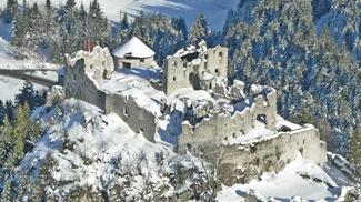 Ehrenberg im Winter