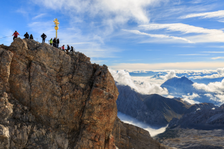 Zugspitze, 08.10.2013