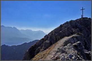 Gipfel der Kreuzspitze