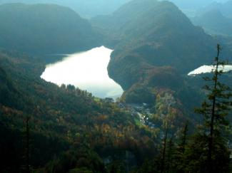 Alpsee Schwansee Hohenschwangau