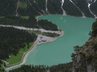 Heiterwanger See von oben