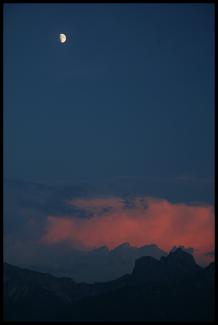 Gewitter über dem Aggenstein