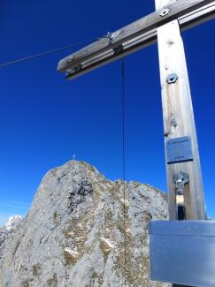 Kleine Gehrenspitze  2105m (Überschreitung)