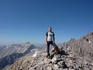 Brunnkarspitze 2609m
