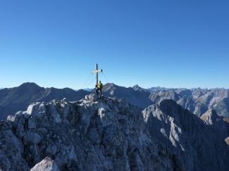 Gabelspitze 2581m