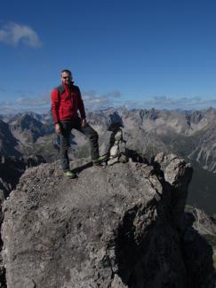 Bockkarspitze 2602m