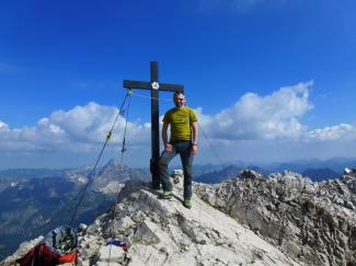Urbeleskarspitze (Westgipfel) 2632m