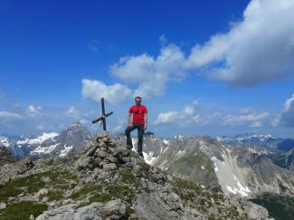 Stallkarspitze 2350m