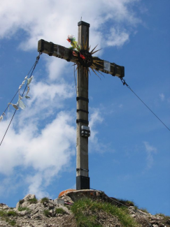 Gipfelkreuz Jochspitze