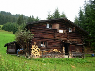 Rotbachhütte in Rinnen/Rauth