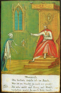 Totentanz Schattwald Monarch