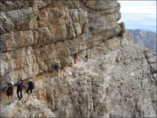 Benini-Klettersteig