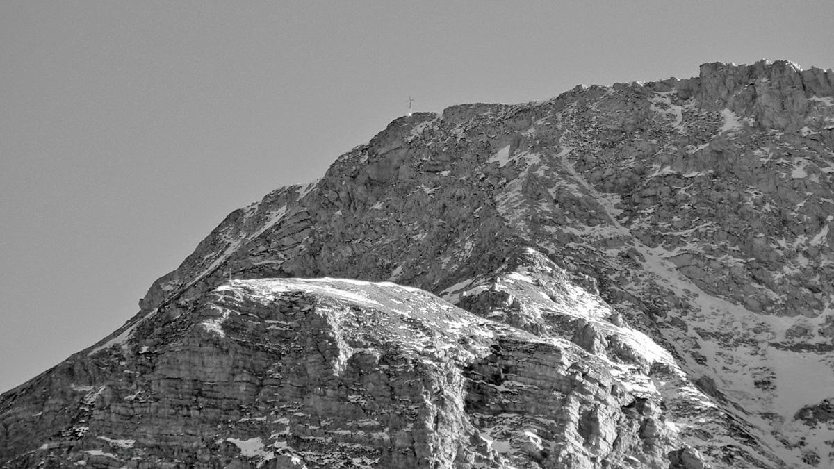 im Norden ist der Großen Schlicke noch der recht unscheinbare Schlickekopf vorgelagert