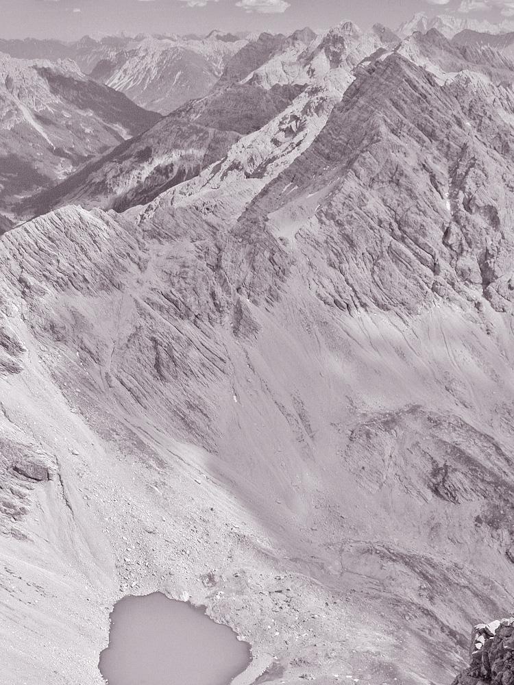 der Hermannskarsee im gleichnamigen Kar