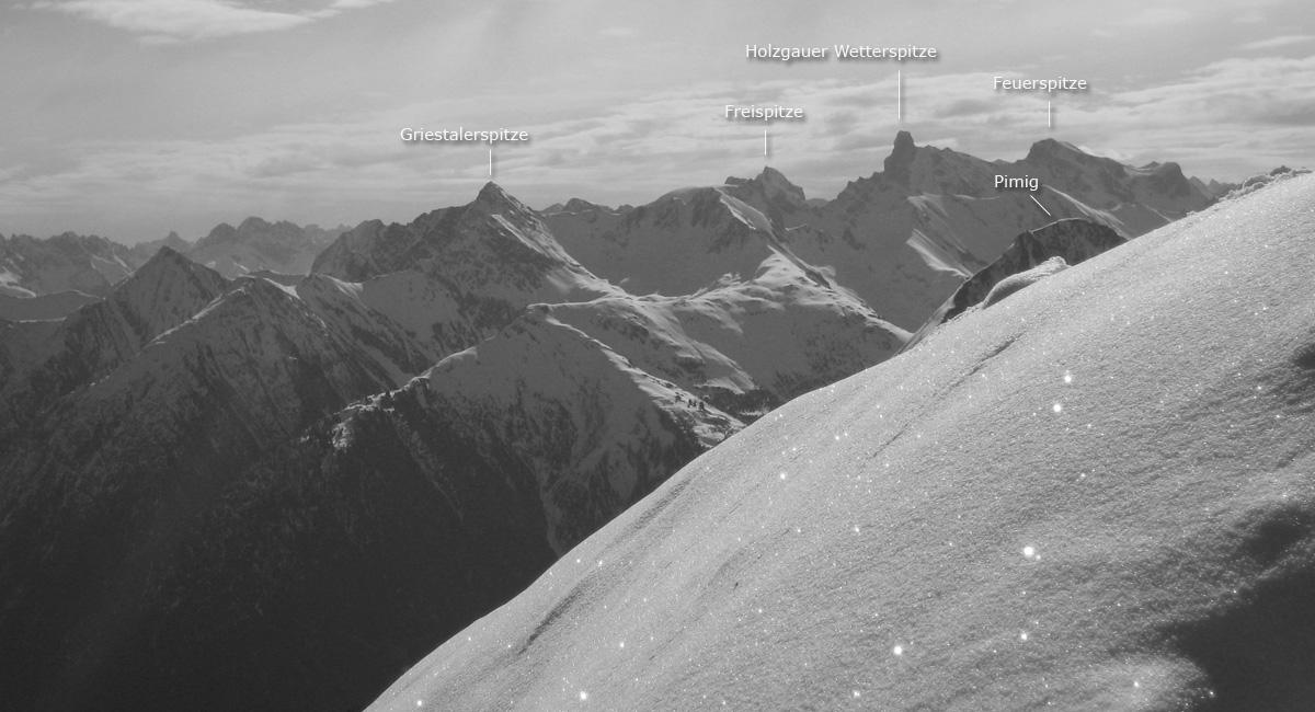 höllenspitze panorama griestaler freispitze holzgauer wetterspitze feuerspitze spitze pimig