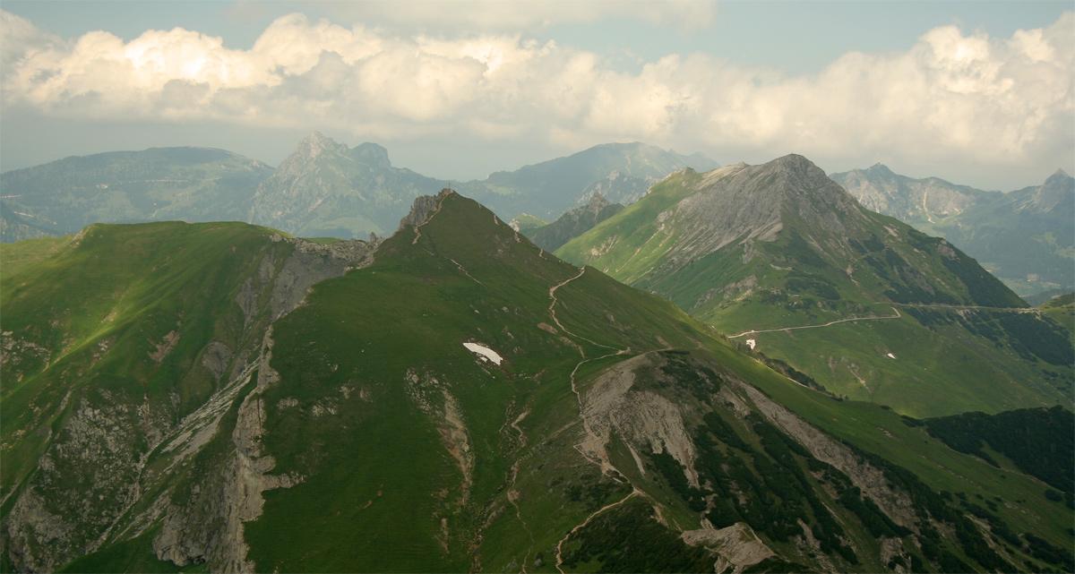 die Schochenspitze von Süden
