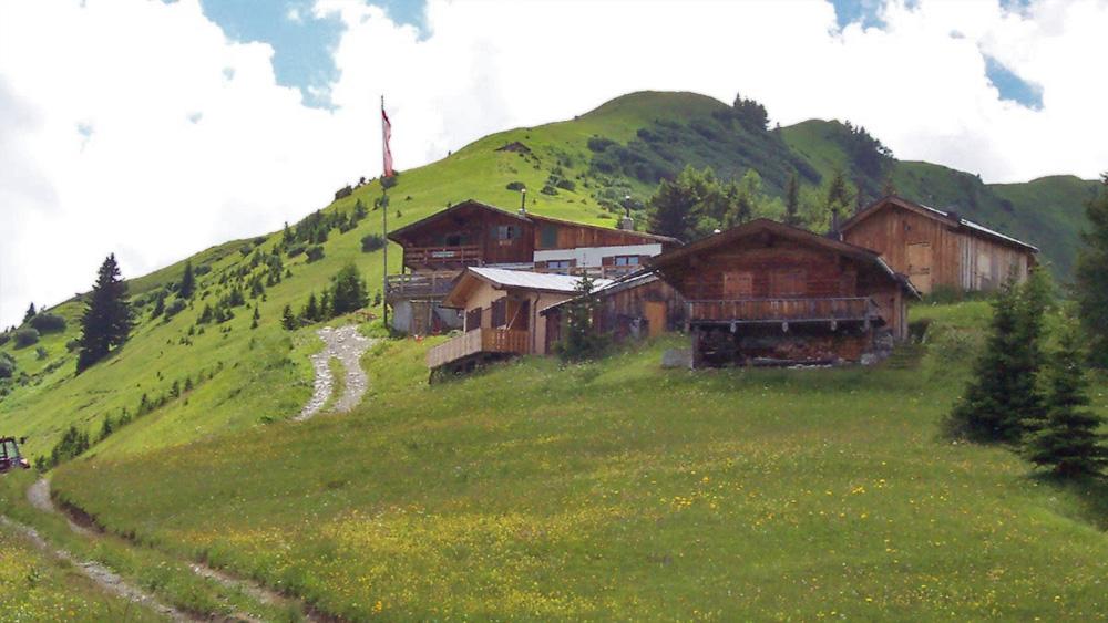 die Hütten am Bernhardseck