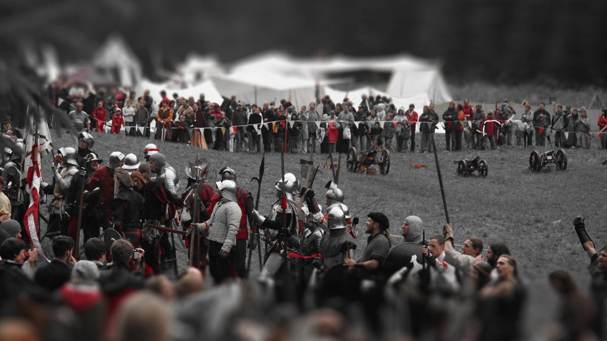 in der Schlacht um Ehrenberg