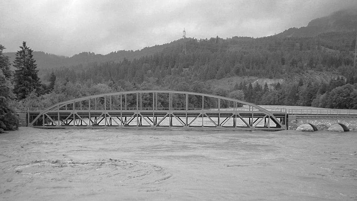 eisenbahnbrücke pflach unterletzen hochwasser 2005 lech