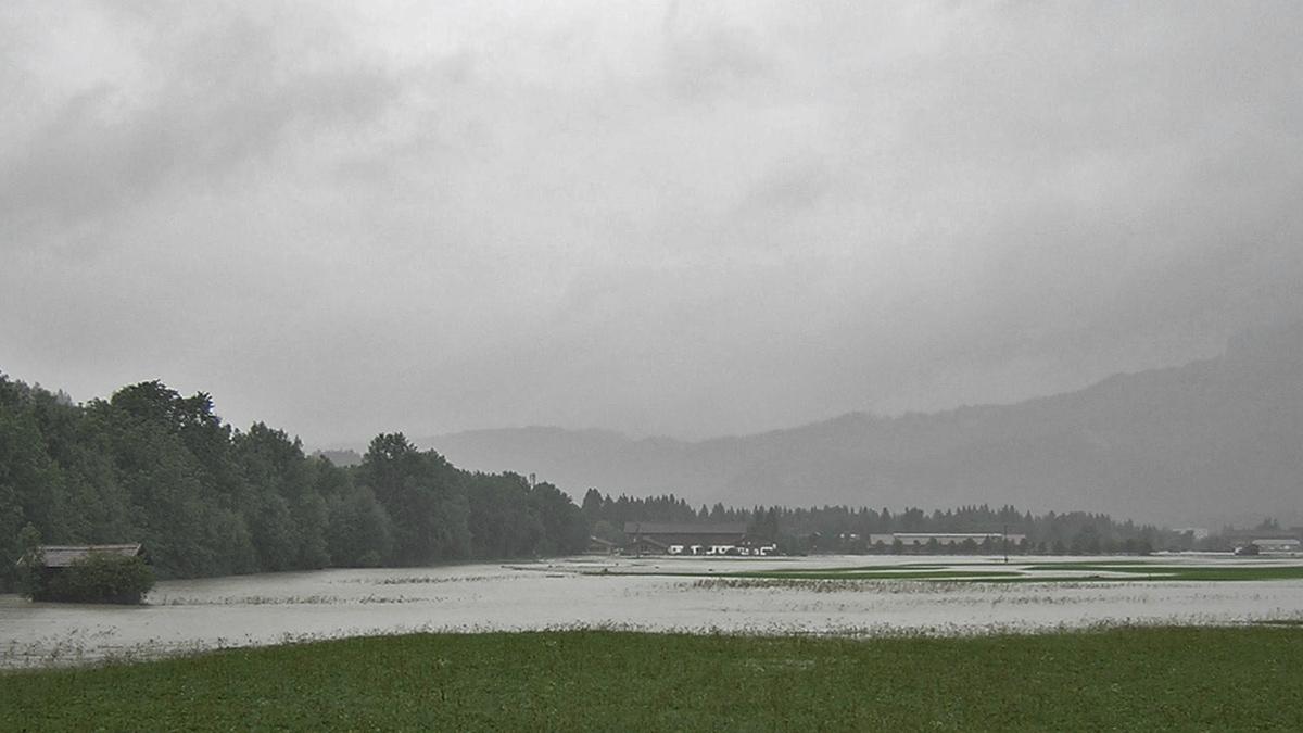 lech reutte unterlüß reiterhof überflutet wildfluss hochwasser 2005