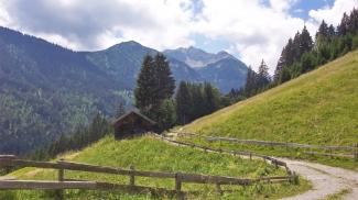 Leilachspitze und Birkental