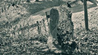 malefizstein grenzstein burgruine eisenberg zell