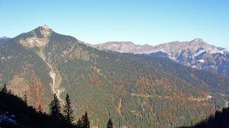 Scheinbergspitze und Klammspitzgrat