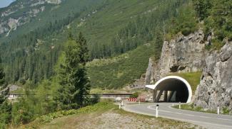lechtalstraße b198 steeg lechleiten gehren tunnel galerie