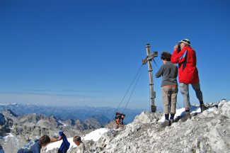 Braunarlspitze Gipfelblick