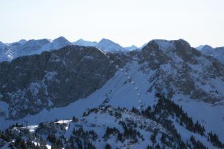 Gaichtspitze von Norden