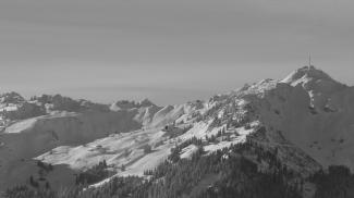 das Skigebiet am Reuttener Hahnenkamm