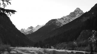 Geschiebefalle im Hornbachtal