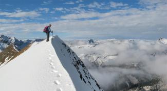 Gipfelgrat des Gloggers