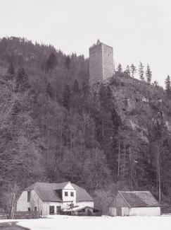 Ruine Vilsegg und die alte Hammerschmiede