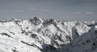 Panorama Hochalpscharte