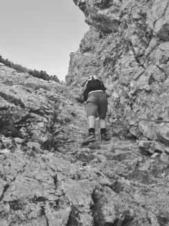 Gipfelrinne Gaichtspitze