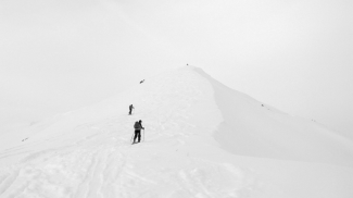 Whiteout am Galtjoch