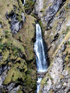 Wasserfall in der Reichenbachklamm