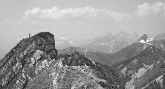 Gipfelblick von der Hochplatte
