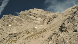 Gipfelflanke Großer Krottenkopf