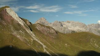 Rothornspitze und Panoramaweg