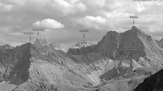 Parseierspitze und Freispitze