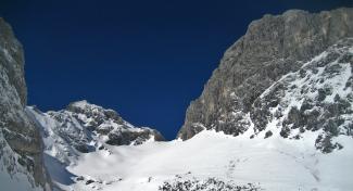 Rote Flüh und Gimpel-Südwand